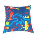 Bird Throw Pillow. Peacock Print. Family Gifts.