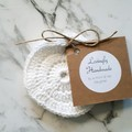 Handmade Eco Reusable Face Scrubbies - Use with Skincare Face Scrub Face Pads