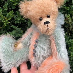 Jestro - a Bearly Bears 'jester' mohair teddy bear, adult collectible