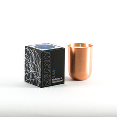 Mulberry & Sandalwood-Copper Natural Soy Candle