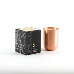 French Vanilla- Copper Natural Soy Candle