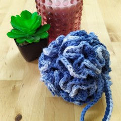 Crochet Shower Pouf - various colours
