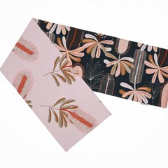 Australian native floral reversible table runner - BANKSIA