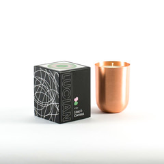 Lime & Coconut-Copper Natural Soy Candle
