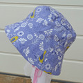 Summer reversible hats, bucket hats, sun hats