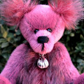 Pinot - a miniature teddy bear, adult collectible, Sassy and mohair