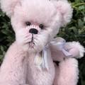 Hadley - handsewn alpaca teddy bear, adult collectible