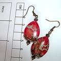 Sea sediment jasper earrings