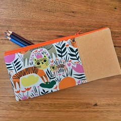 Pencil Case - Wild Cat