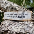 If You Want Breakfast In Bed...Sleep In The Kitchen Reclaimed Timber Sign