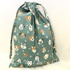 Drawstring Bag - PUPPY PALS