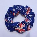 Australia Day scrunchies