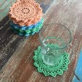 Crochet doily in colour of your choice, home decor, flatlay prop, appliqué
