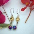 Sterling Silver Drop Earrings with free postage