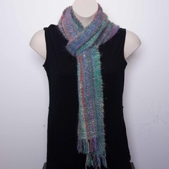 Handwoven Silky Soft Multicoloured Scarf