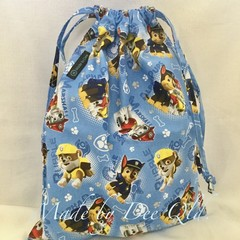 Drawstring Bag: PAW PATROL