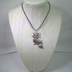 Necklace with Owl Pendant with free postage