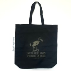 Bin Chicken (Ibis) Tote Bag // Shopping Bag // Cotton Eco  // Free Post to Aus