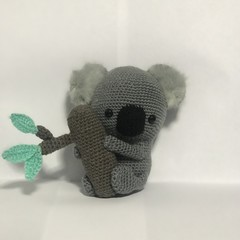 Crochet Koala $10 donated to the RFS and Wires
