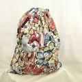 Drawstring Bag:  BUTTERFLIES