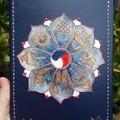 Undated notebook, Spiritual journal, Yoga lovers,Infinity