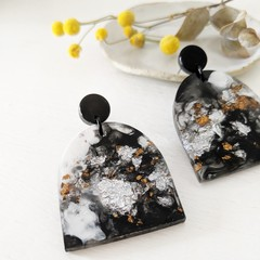 SALE! Eco resin earrings