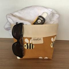 Bumblebee storage basket  - med