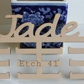 Personalised Name Medal Holder -Raw