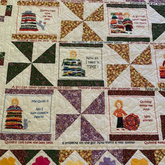 It's Time for a Nana Nap - Hand made Quilt - Cat lover - double