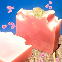 Cherry Blossom Kombucha Soap Bar