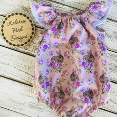 Easter Seaside Playsuit Size 0
