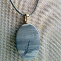 MADEIT FOR FIREFIGHTERS - After the Fires Jasper Pendant