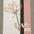 Valentine Love Card / Birthday / Anniversary Card - free postage