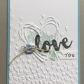 Valentine Love Card / Birthday / Anniversary Card - free postage
