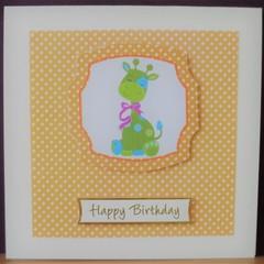 Child Birthday Card