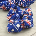 Australian Flag Scrunchie - Red White and Blue