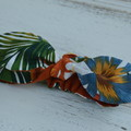 Headknot for girls / tropical headband