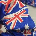 Australian Flag Scrunchie - Red White and Blue