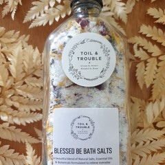 Blessed Be Natural Bath Salts
