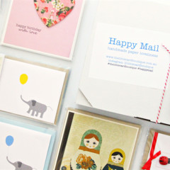Surprise Box of Cards, Lucky Dip, Blank cards, Birthday cards, Notecard Set