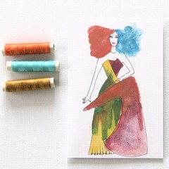 Blank Card, Fashion, Birthday Card, Thank You Card, Thinking Of You Card