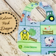 """John Deere""Cotton Bib Buy 3 bibs get the 4th free andFree Post"