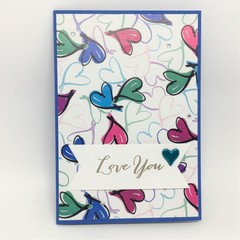 Love You card, Valentine/Anniversary