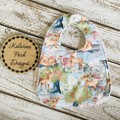 """""""Baby Deer"""" Cotton Bib Buy 3 bibs get the 4th free and free post"""