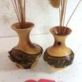 Two Turned Kurara Weed Pots (Items 079a and 079b)