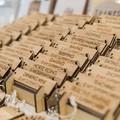 Superpower Key Ring Bamboo Laser Cut Pun Gift Christmas Stocking Filler