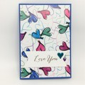 Love You card, Anniversary/Valentine/Thinking of You