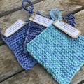 Extra Scrubbie Wash Cloths, set of three.