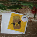 Madeit for Firefighters Bee Brave Card Be Brave Card Encouragement Card