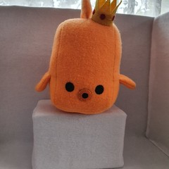 Little Loafer Gil The King Goldfish Plush Toy, kids gift, collectable